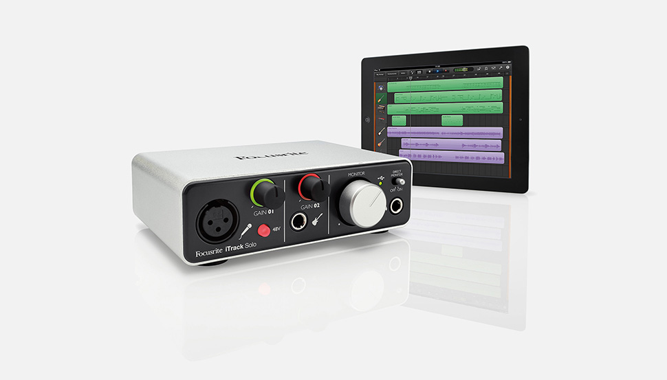 Focusrite iTrack Solo کارت صدا